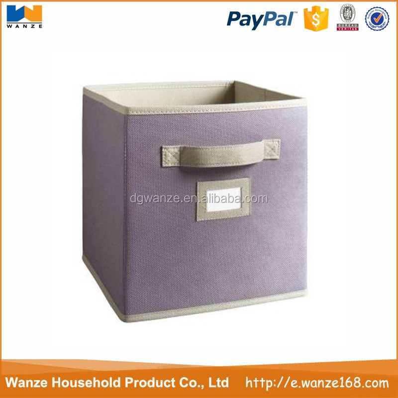 cheap grey folding non woven child storage drawers