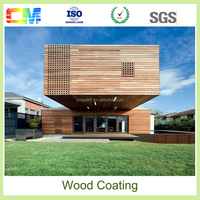 High performance PU primer clear polyurethane wood paint coating