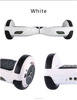 two wheel balance scooter mini electric scooter foot scooter with LED light and bluetooth