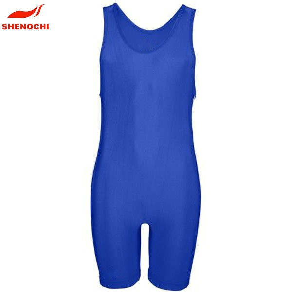 Low Price Custom China Plain Wrestling Singlets Wrestling Wear