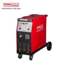 2017 hot sale synergic double pulse MIG welder aluminum ALUMIG-250P