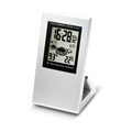 High quality fashion Solar Dual Power System powered table clock
