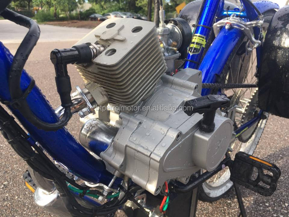 Super quality BT80cc bicycle engine kit 2 cycle gas powered exported to U.S