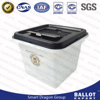 High quality large lottery ballot boxes container