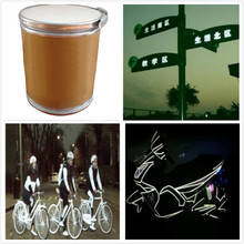 eco-friendly high refraction reflective microspheres grey powder coat / luminous road marking paint