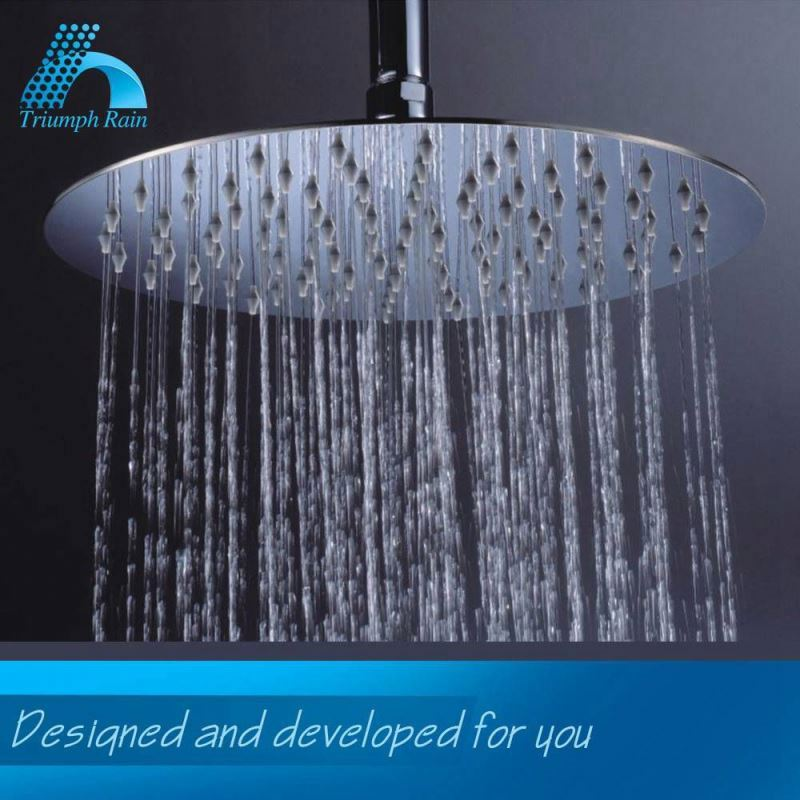 Cost-Effective Classic Design Mirror Polished Ultra Slim Shower