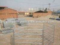 Galvanized security feedlot yard fencing panels(supplier)