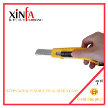 Quick release ABS plastic utility stationery knife