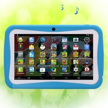 New Design 7 Inch Kids Tablets pc WiFi Quad core 8GB Android4.4 Children's favorites gifts