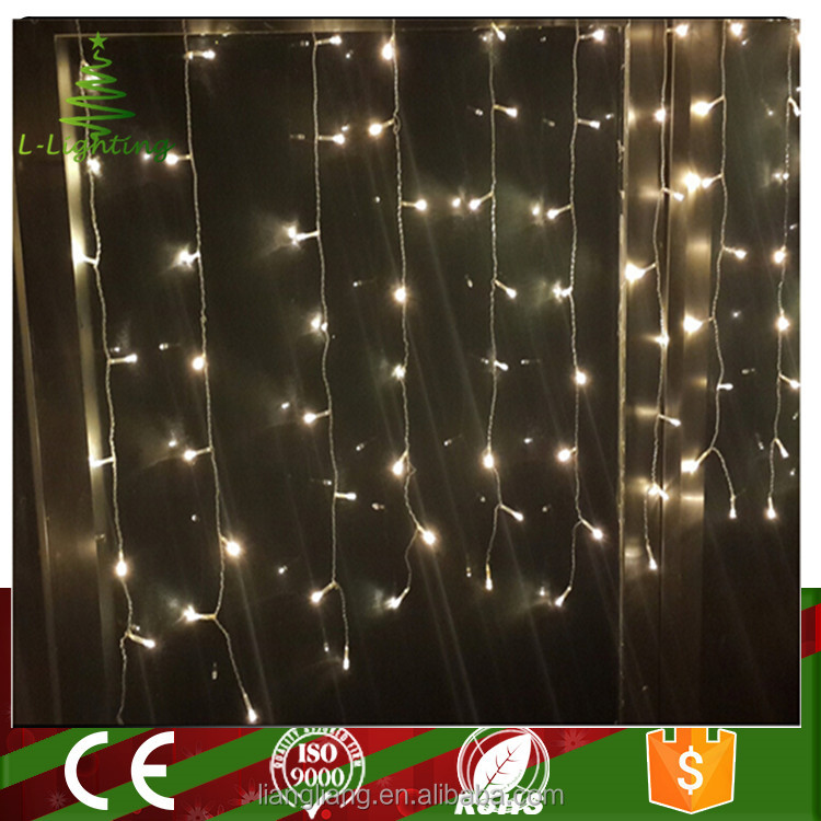 wholesale color changing festive christmas led curtain light