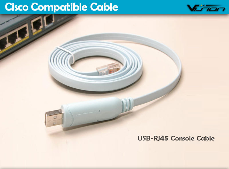 6FT FTDI USB to RJ45 cisc0 console cable