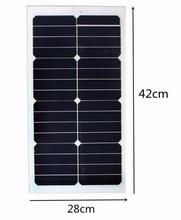 High Quality Small Modules 12V 20W PV Solar Panel