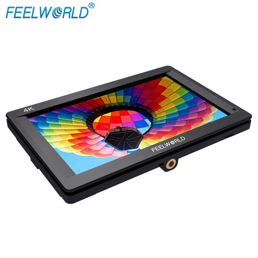 Feelworld 7 inch 1920x1200 HDMI 4K UHD input output hd monitor dslr with 1200:1 F7