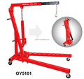 1ton hydraulic shop crane