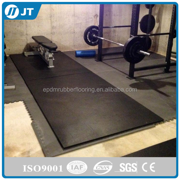 CHEAP Shanghai qaulity EPDM SBR gym rubber floor rubber mat for home gym, fitness center