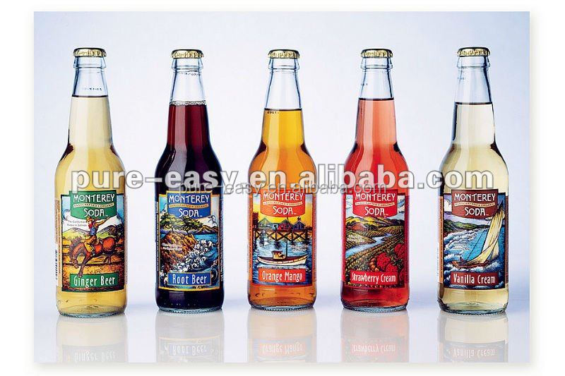 customized fany printed beer bottle labels