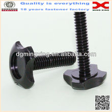 black color high quality car wheel screws