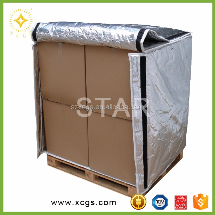 Bubble Heat Insulation Material/Pallet Insulated Cover for Food Shipping