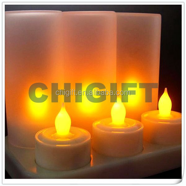 Candles Wholesale Tealight Rechargeable Candle