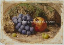 Grapes Famous Fruits Artists Painting