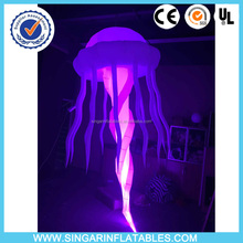 inflatable club decors 16 colors led light jellyfish with romote controller