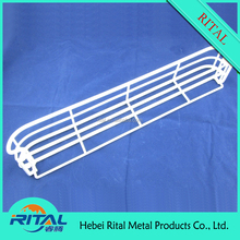 High Quality PE Coated White Wire Mesh Refrigerator Shelf