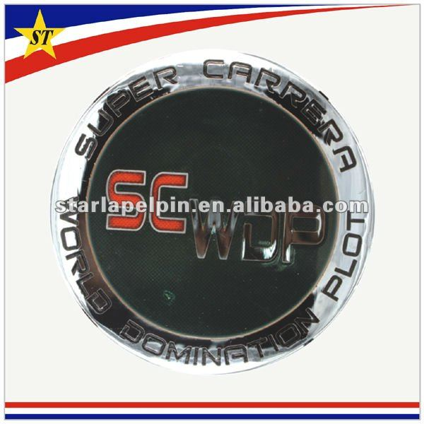 Promotional cheap uae 42 national day custom made metal car emblem