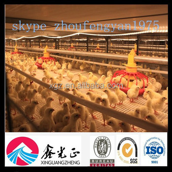 high quality steel poultry house chicken farm equipment from china