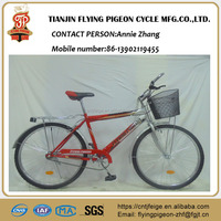 "26"" steel economic attractive MTB single speed bicycle with high performance cost ratio(FP-MTB16003)"