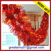 Big thick wedding and party decoration hall hanging tinsel made in china