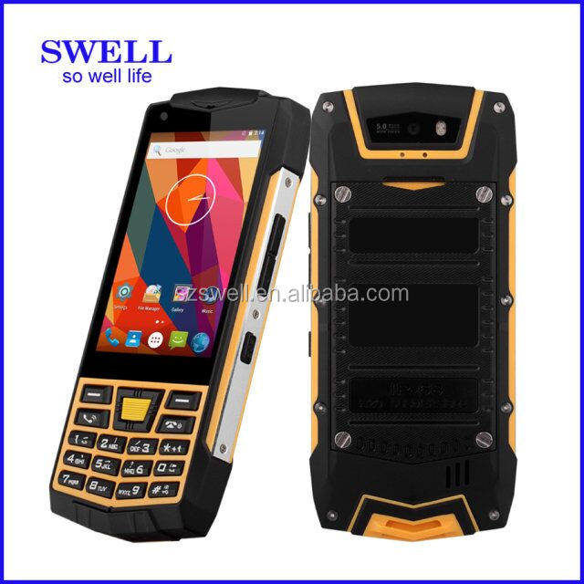 free sample mobile phone custom waterproof rugged small feature phone long standby dual sim cell phone for senoir people
