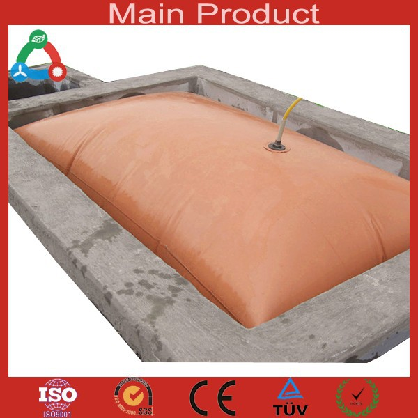Chongqing Small 6cbm 8cbm 10cbm Portable Foldable Biogas Plant In Pakistan For Farm And Toilet