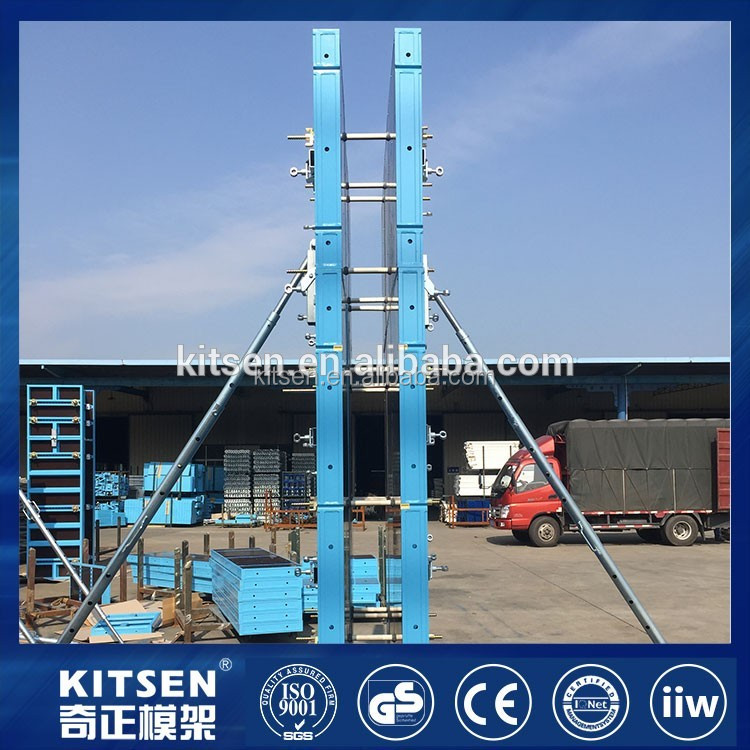 Easy Erection Wall Formwork Concrete Wall Board Systems