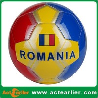 deflated pvc soccer balls for promotional