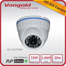 Popular Speed dome HD-SDI camera with full HD 720P Mega Pixel 1/3''Sony IMX 238 1.0 Megapixel CMOS