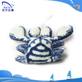 100% pp stuffing kid toy cute soft crab stuffed 2015 baby toys pendant