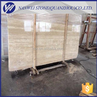 polished cut to size beige travertine MARBLE STONE kitchen countertop CHINA marble price