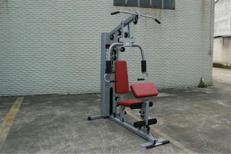 AMA-7000D single station home gym equipment, body building fitness equipment (size of main frame:75*45*2.0 )