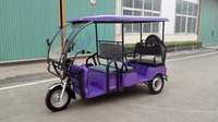 Cheaper Indian Style Battery Powered Rickshaw From XUZHOU CARDA supplier