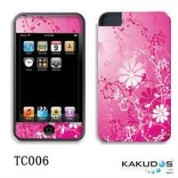 PVC sticker for iphone 4S/4 chinese nature style