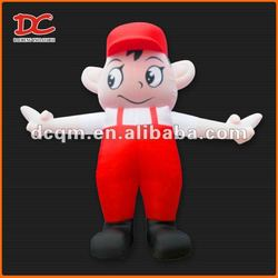 Attractive Large Lovely Cartoon Fixed Inflatable Boy