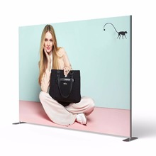 Hot sales 10ft Straight Stretch Tension Fabric Backdrop Display stand