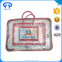 Bedding Packaging Plastic PVC Wire Blanket Bag