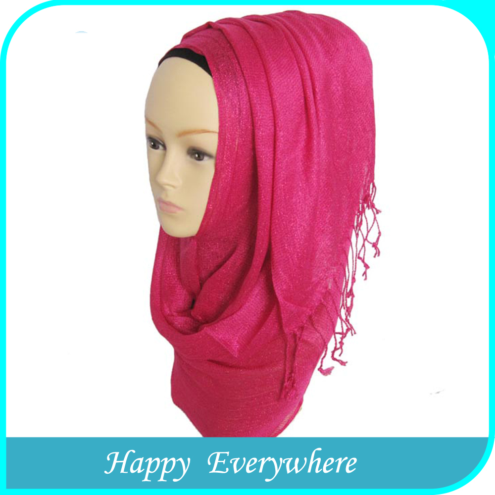 Competitive price cotton newest women muslim head scarf with elegant design