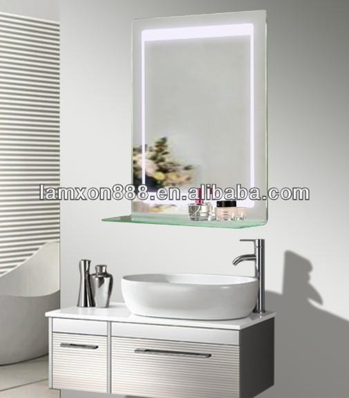 led hintergrundbeleuchtung glas badezimmer spiegel mit. Black Bedroom Furniture Sets. Home Design Ideas