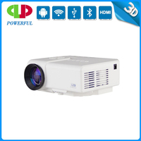 POWERFUL 3D full HD 1080p support low wholesale price portable mini led projector