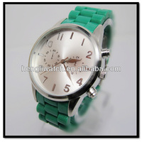 Custom Design Watch Silicone Jelly Watch Silicone Men Watches silicone strap watch ,waterproof watch ,new style watch