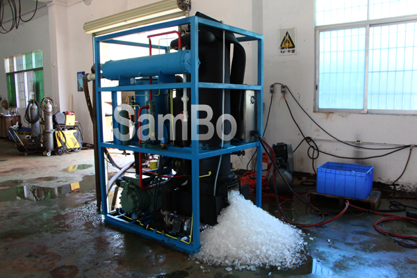 Low cost efficiently High Quality 5T Tube Ice Making Machine