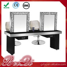 Beauty Salon Mirrors Styling Stations Double Sides Hair Salon Mirror For Sale