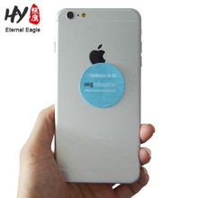Back silicone surface microfiber phone screen sticker cleaner